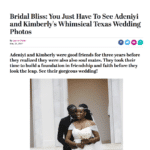 Keith Cephus' Amazing Nigerian Wedding at the Chateau Cocomar Featured on Essence!!