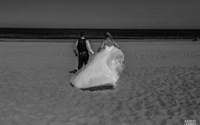 Sandbridge Beach Wedding Photographer   Sunshine and John's Beach Wedding